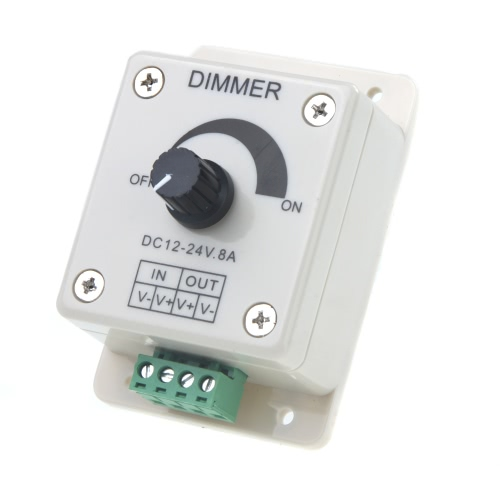 Regulador Dimmer LED para luz LED Strip