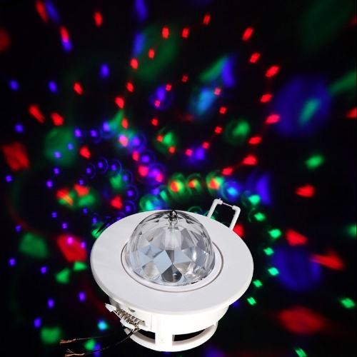 3W Colorful LED Ceiling Stage Light