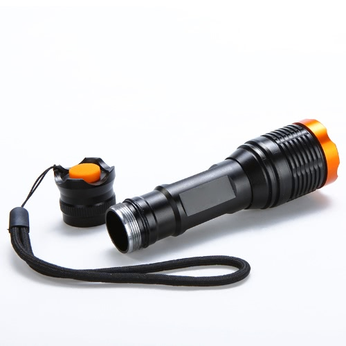 LED Flashlight 5-Mode T6 2000Lm