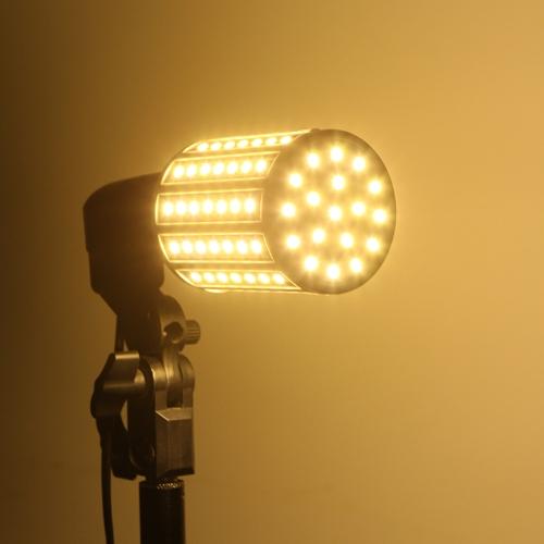 15W E27 102 5050 SMD 1800LM Кукуруза для 360° светодиодный лампы света лампа 200-230 в теплый белый