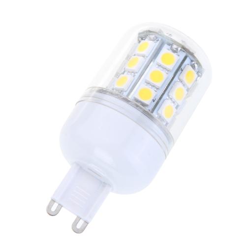 Tomtop coupon: G9 5W 30 SMD5050 LED Light Bulb Corn Light LED Lamp Warm White 220V