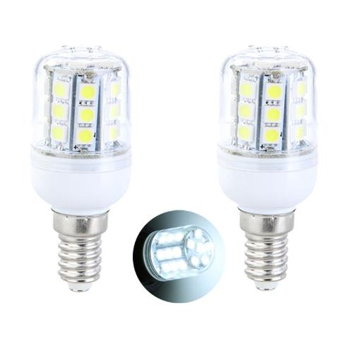 E14 5W 30 SMD5050 светодиодные лампочки кукурузы света светодиодные лампы белый 220V
