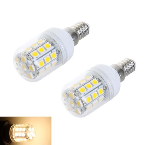 E14 5W 30 SMD5050 LED Light Bulb Corn Light LED Lamp Warm White 220V