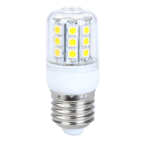 E27 5W 30 SMD 5050 LED Light Bulb Corn Light LED Lamp Warm White 220V