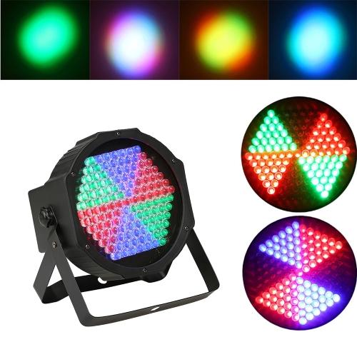 Lampa sceniczna o mocy 25W 127 LEDs DMX512 RGB