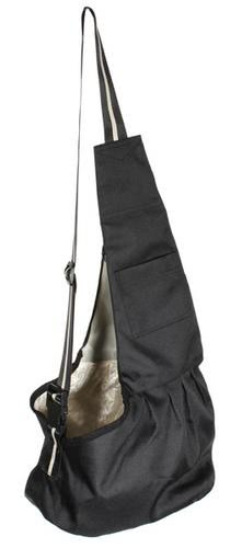 Pet Carrier Bag Oxford Cloth Dog Cat Carrier Single Shoulder Bag  Black