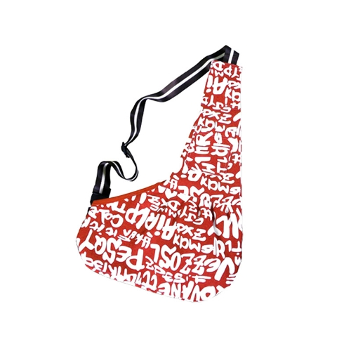 Pet Carrier Bag Oxford Cloth Dog Cat Carrier Single Shoulder Bag  Red
