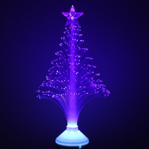 3W E27 LED Fiber Optical Flower Light Stage Light Christmas Tree Lamp 85-260V
