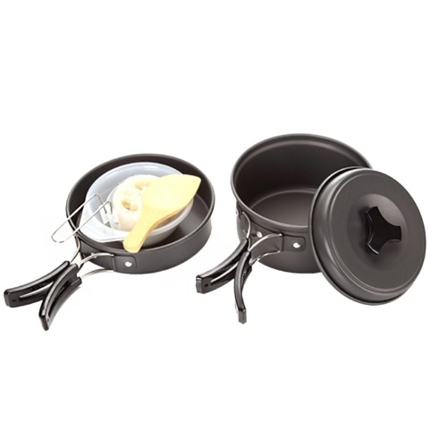 Portable Non Stick Frying Pan for Travelling Cooking Camping Climbing Home M