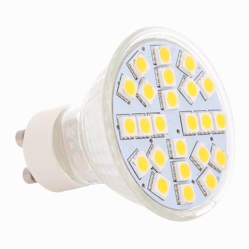 Proyector del bulbo de GU10 24 SMD 5050 LED luz lámpara blanco cálido