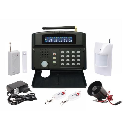 GSM Home Intelligent Alarm System