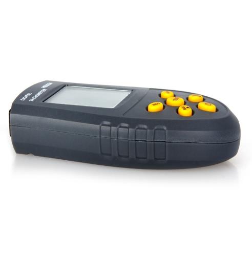 Laser digital tacômetro LCD RPM teste motor pequeno medidor de velocidade do Motor não-contato