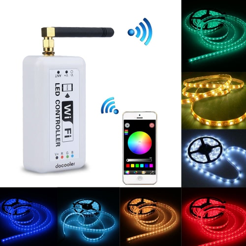 Docooler Wireless RGB Wifi Kontroler LED Strip