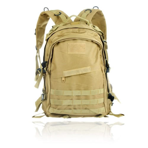 40L Molle Military Tactical Rucksack Backpack Outdoor Hiking Camping Casual Bag