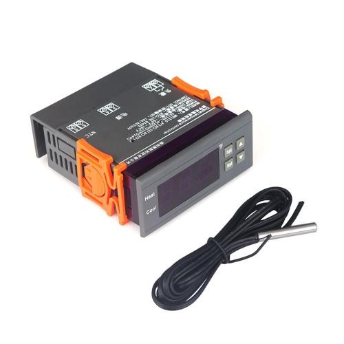 Цифровой терморегулятор 10A 110V