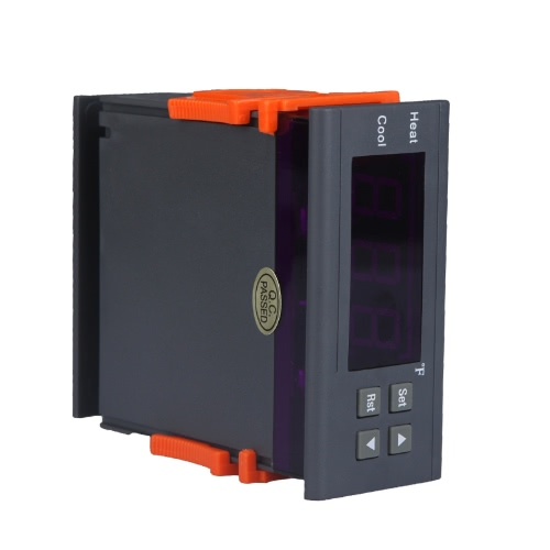 KKmoon 10A 110V Digitaler Temperaturregler Temperature Sensor Thermoelement - 58 ~ 194 Fahrenheit mit Sensor