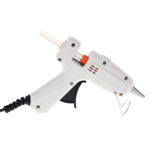 Мини-25W Professional Handy High Temp Подогреватель Hot Melt Клей пистолет с 50шт клей палочки отопления Крафт Repair Tool фото