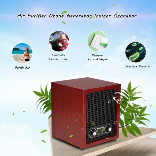 Homgeek 3500SQ.FT Luftreiniger Ozon-Generator Ionisator Ozonator Reiniger Frischluftreinigungssystem für Home Office Hotel Nutzung