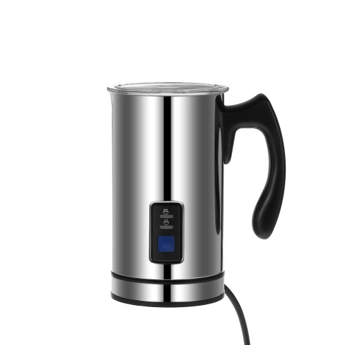 Homgeek Stainless Steel Automatic Electric Milk Frother Foamer Frothing & Heating Milk Warmer Foam Maker Latte Cappuccino Home Kitchen Use