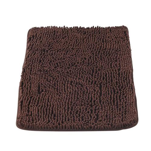 50 * 80 см Прямоугольный мягкий синелиный коврик для ванной Нескользящая вода Абсорбирующая мозаичная ванна для душа Ванна для ванной Туалет Туалет