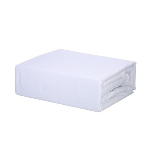 Набор для постельного белья Htovila 4-х слойный Мягкий матовый комплект постельного белья из микрофибры Flat Flat + Fitted Sheet + 2pcs Pillowcase - Queen Size + Grey