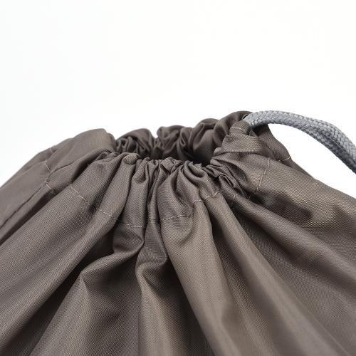 4 pezzi / set Set borsa da viaggio impermeabile nylon con coulisse sacchetto uomini e donne vestiti pieghevoli classificati organizzatori scarpe da imballaggio borse bagagli (giallo)