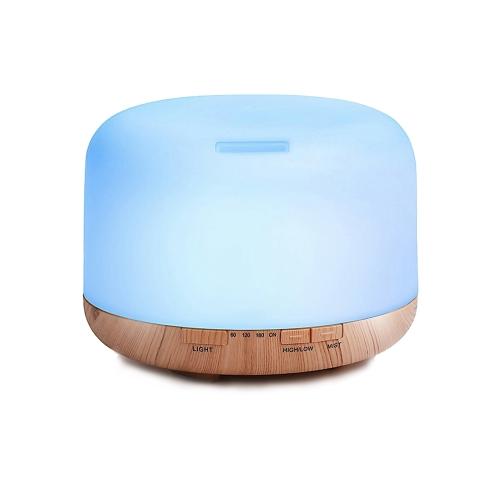 Ultradźwiękowy nawilżacz powietrza o pojemności 500 ml