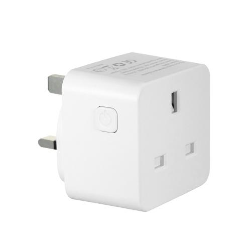 AC 100-240V 13A Smart Wi-Fi Plug Voice Control Compatible with Alexa/ Google Home