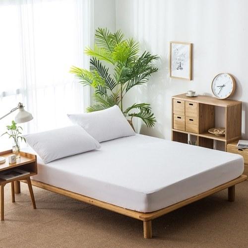 Wasserdichter Matratzenschoner Premium Bettbezug, 100% wasserdicht, hypoallergen, staubdicht, glatte, weiche Baumwollfrotteebezüge