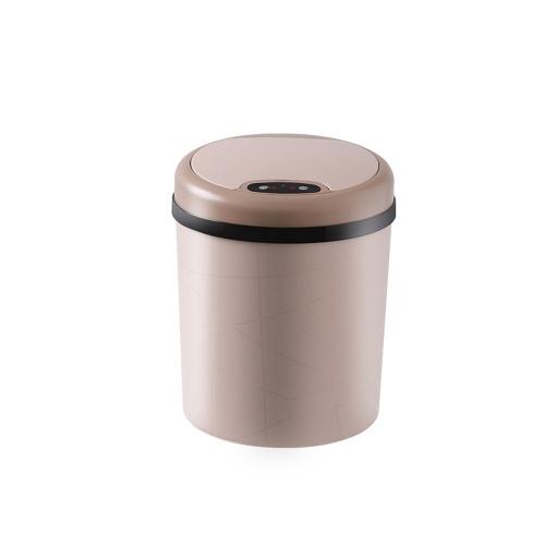 Automático de Aço Inoxidável Touchless Infravermelho Automático Sensor de Movimento Inteligente Lixeira Lixo Cozinha Lata de Lixo Forma Redonda