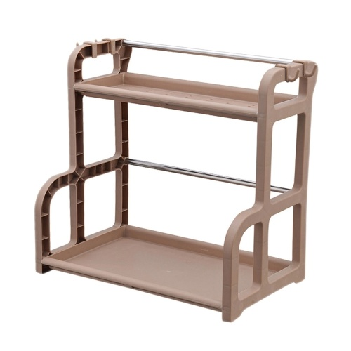 2-Tier Storage Rack Countertop Standing Shelf