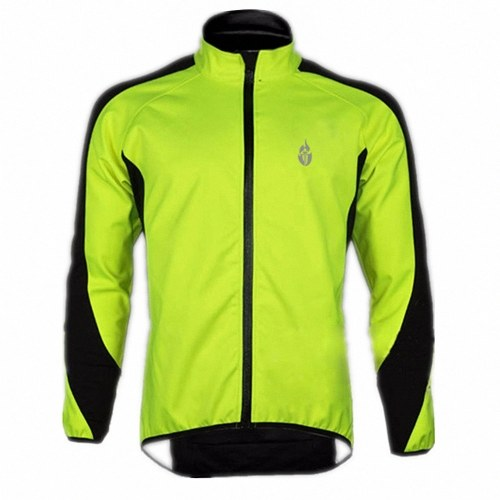 docooler Fleece Thermal Cycling Long Sleeve Jersey Winter Outdoor Sports Jacket Windproof Wind Coat Bicycle Cycle Wear Clothing