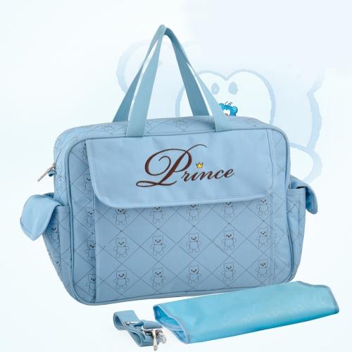 Большой емкости Baby Подгузники подгузников сумка мумия сумочка с изменением лайнера площадку
