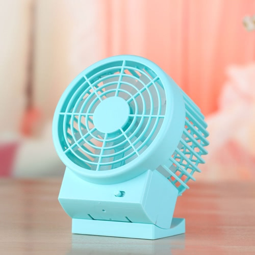 USB Portable Mini Fan DC 5V 500mA Super Silent Cooler for Office Use High Blowing Volume Adjustable 2 Speed
