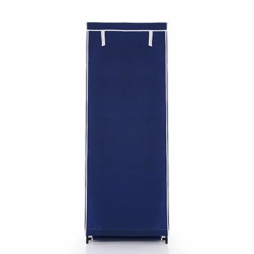 iKayaa Meuble à chaussures bleu - 6 étages