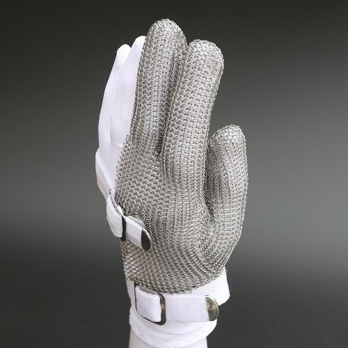 High-quality Stainless Steel Mesh Knife Cut Resistant Chain Mail Protective Glove