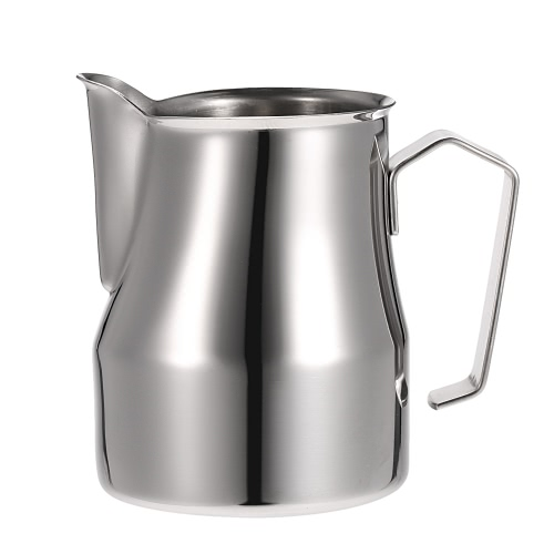 304 Stainless Steel Professional Italian Type Milk Frothing Pitcher Milk Foam Container Espresso Measuring Cups Coffe Appliance