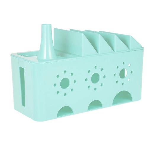 Cable Management Box Power Cord Organizer Socket Safety Storage Box