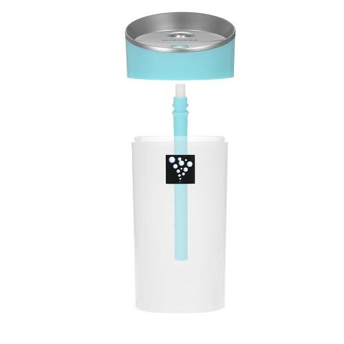 DC 5V 300 ML portátil inteligente USB del anión humidificador de aire 2 Modos Mist Mini aromaterapia aceite esencial del difusor del aroma fabricante de la niebla para el Ministerio del Interior del coche apagado automático