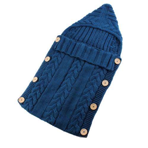 Симпатичные Теплый мягкий новорожденный Baby Girl Boy Весна осень-зима Конверт Прогулочная коляска кровать Постельные принадлежности Спальный мешок Мешок Пеленальный Wrap Одеяло