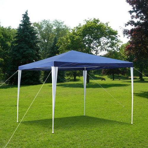 iKayaa 3M*3M Waterproof Outdoor Canopy Garden Party Wedding Camping Tent
