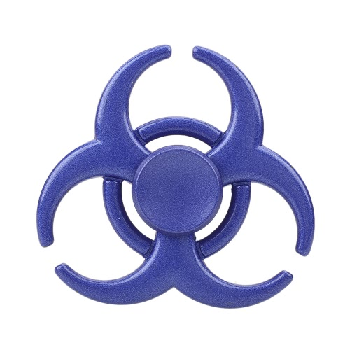 Fidget Hand Finger Desk Toy Stress Reducer for Fidgeters Anxiety Autism Focus Children Adults EDC Pocket Desktoy Gift ADHD Metal Spinner Rainbow Color