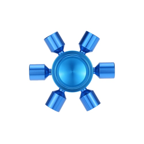 6 Руки Съемные DIY Fidget Рука Finger Tri Стресс-редуктор Металл Spinner Spin Widget Фокус Настольная игрушка для Fidgeters Беспокойство Аутизм ADHD Фокус Дети Взрослый подарок