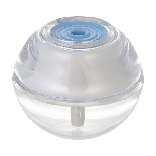Mini USB DC5V Ultradźwiękowe Kryształowe nawilżacz powietrza Dyfuzor Mist Maker z lampką nocną LED dla domu Samochodów Biurowych