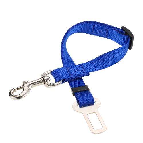 Регулируемая собака Ремень безопасности для собак Плетеные ремни безопасности Автомобильные ремни безопасности ремня безопасности Прочный материал из нейлона Оранжевый