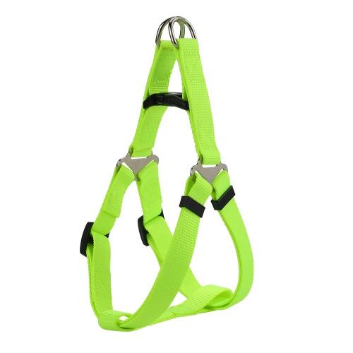 Material de nylon duradero Chaleco de seguridad para perro Chaleco ajustable Cinturón Correa Correa para el pecho Chaleco para mascotas