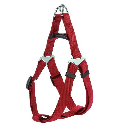 Durable Nylon Material Safety Dog Vest Adjustable Harness Belt Leash Chest Strap Pet Vest