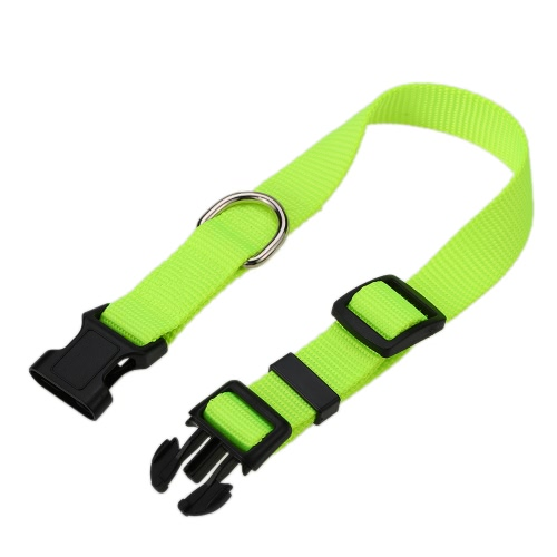 Strong Durable Dog Collar Nylon Material Adjustable Comfortable Neck Pet Collars