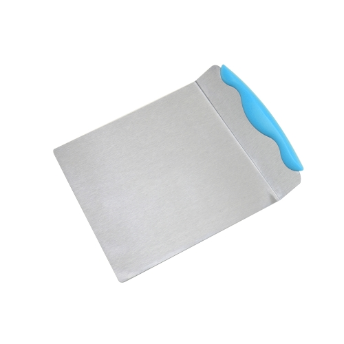 Stainless Steel Cakes Move Plate Layer Lifter Cake Transfer Shovel Bread Pizza Peel Purple