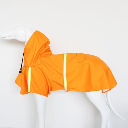 Haustier-Regenmantel-justierbare Welpen-Regen-Jacken-Mantel-Umhang-Art Wasser-beständige Kleidung Poncho-Regenkleidung mit reflektierendem Streifen